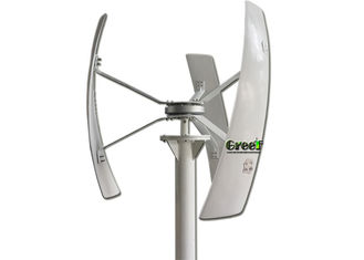 Small 300W Vertical Axis Wind Turbine , Residential Vertical Wind Turbine
